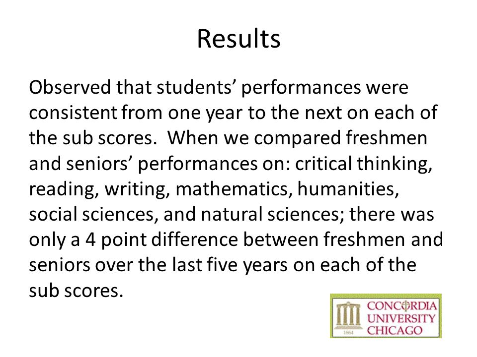 ETS Proficiency Profile Demographic Analysis Report Total Mean Scores by Academic Year