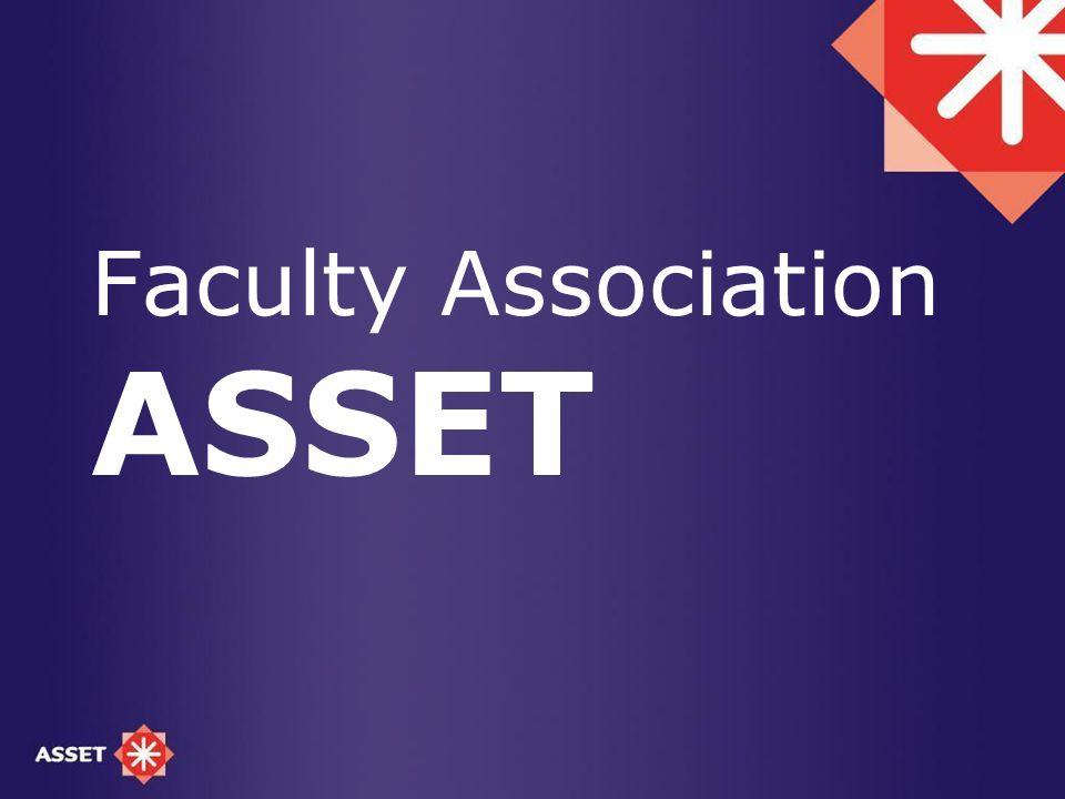 Faculty Association ASSET