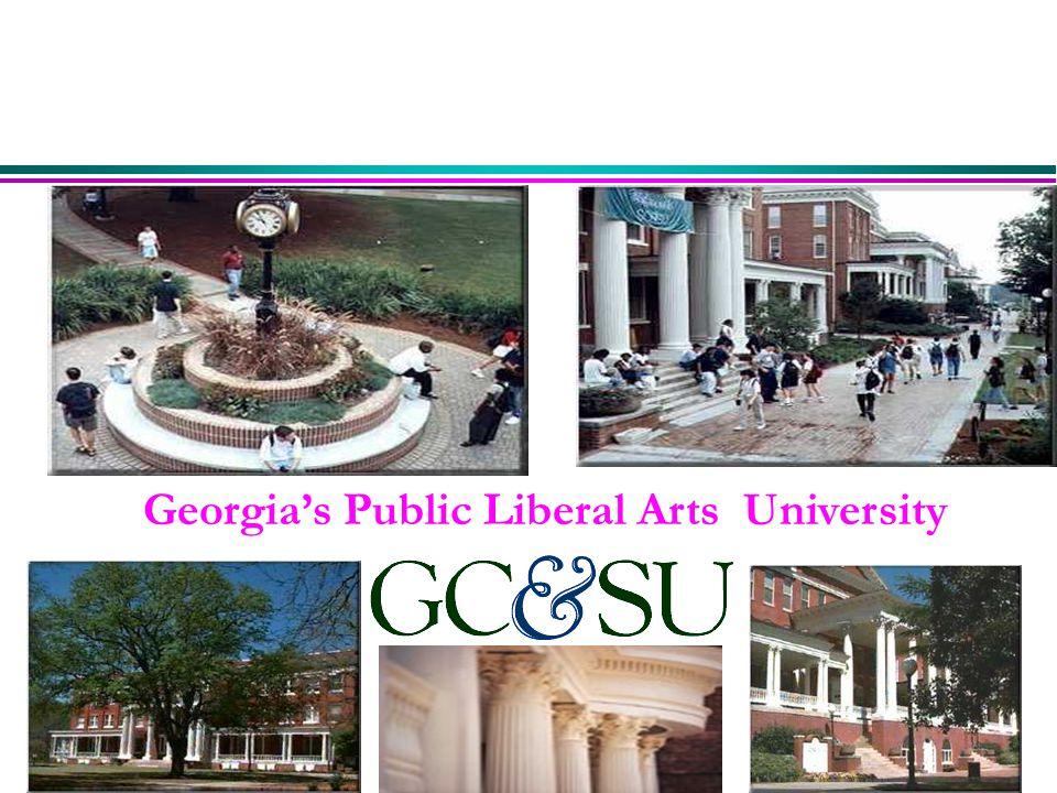 Georgia's Public Liberal Arts University
