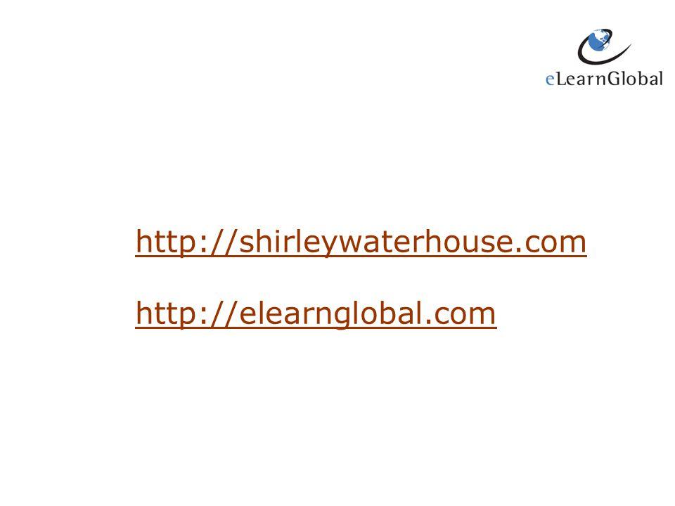 http://shirleywaterhouse.com http://elearnglobal.com