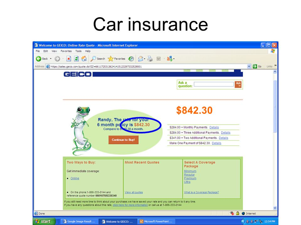 Car insurance 18 year old female $661.70