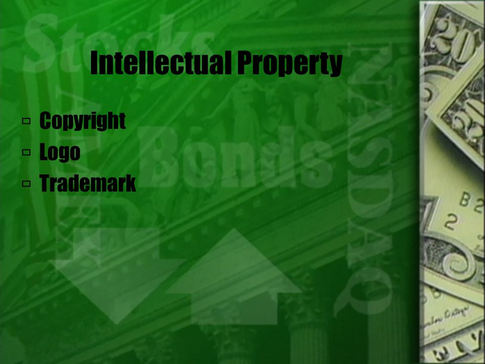 Intellectual Property  Copyright  Logo  Trademark