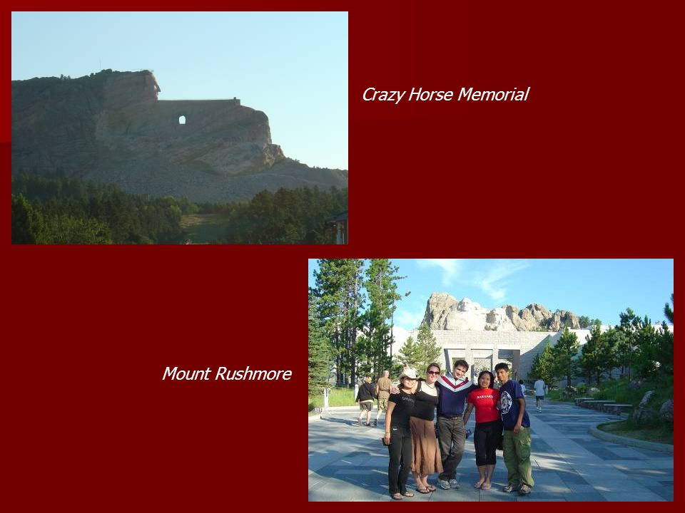 Crazy Horse Memorial Mount Rushmore