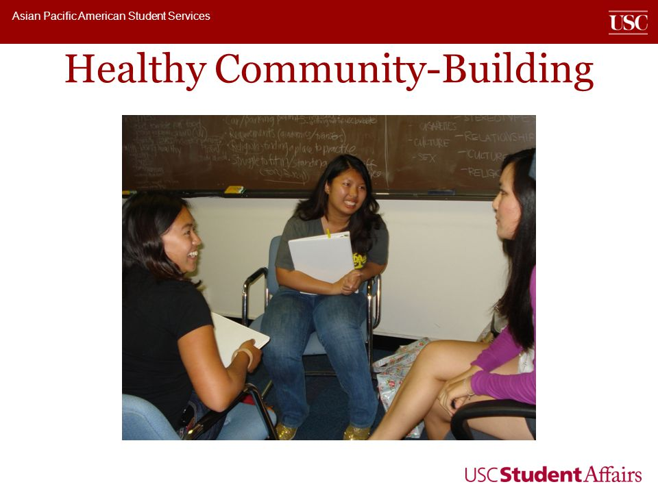 Asian Pacific American Student Services Healthy Community-Building