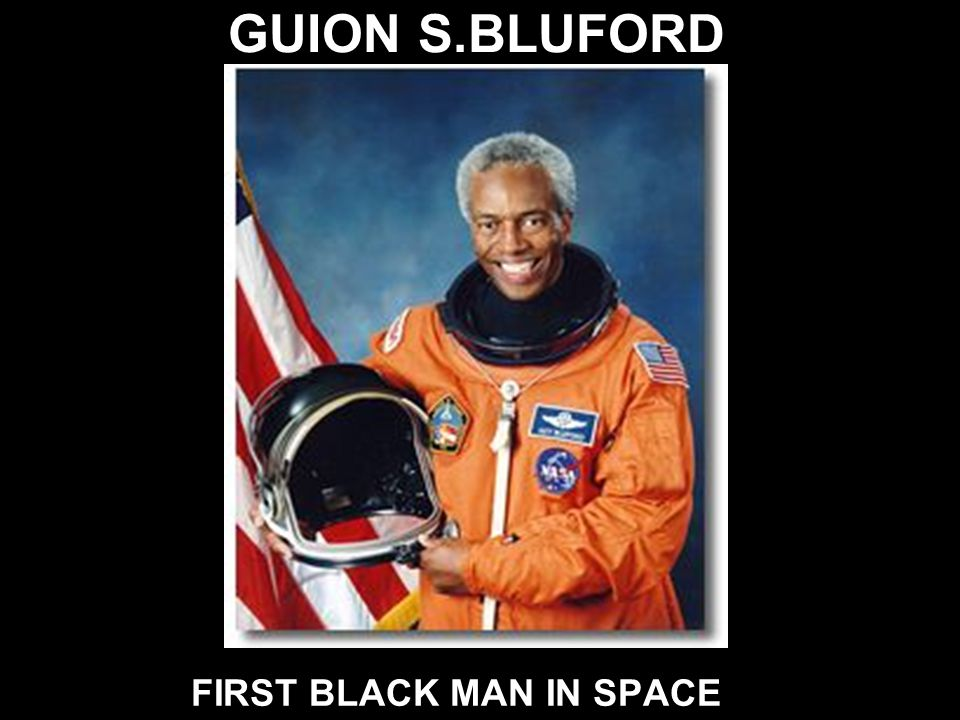 MAJ. ROBERT LAWRENCE JR. FIRST BLACK ASTRONAUT