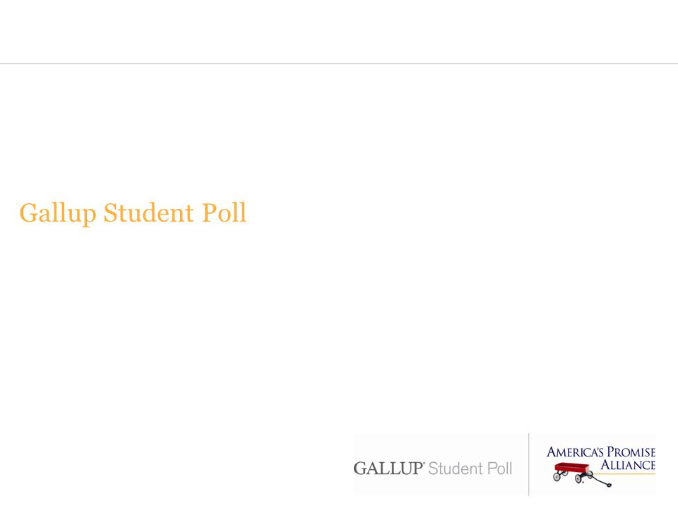 Gallup Student Poll