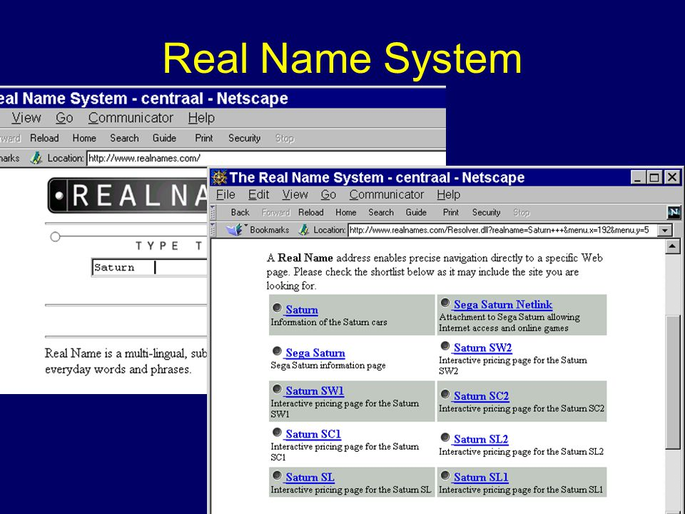 Real Name System
