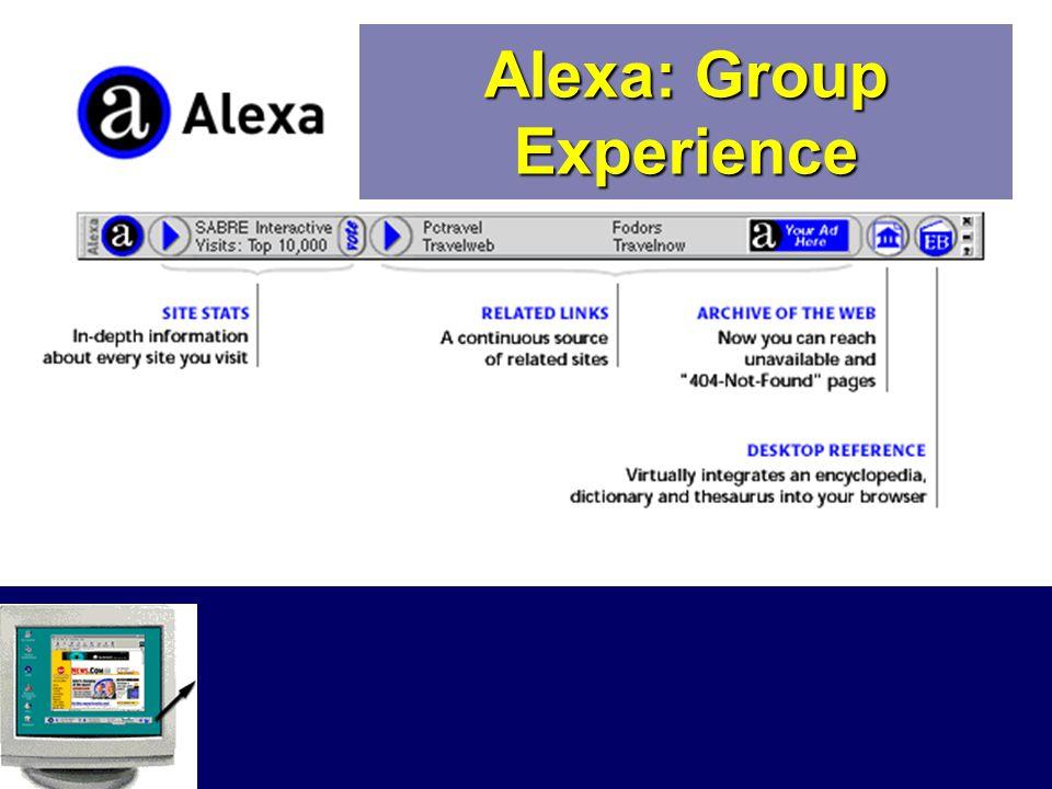 Alexa: Group Experience
