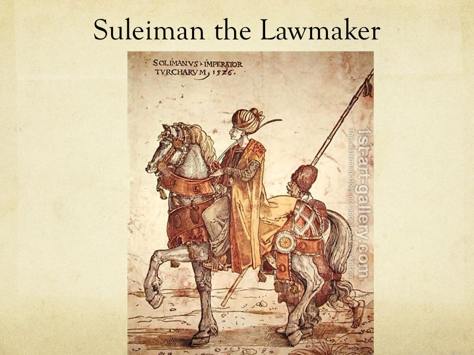 Suleiman the Lawmaker