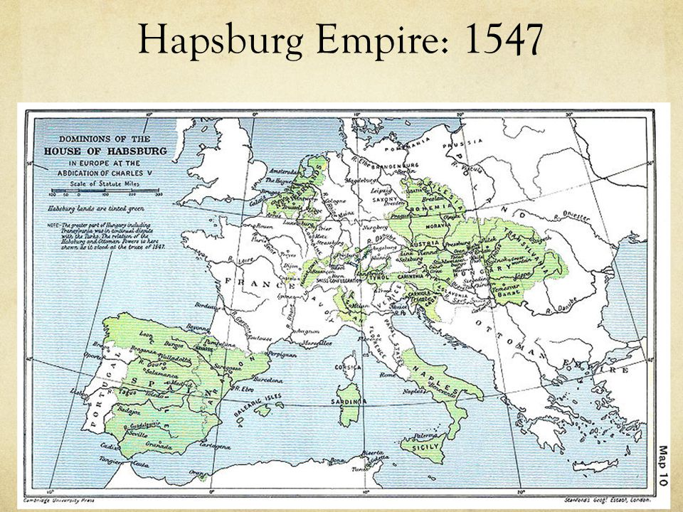 Hapsburg Empire: 1547