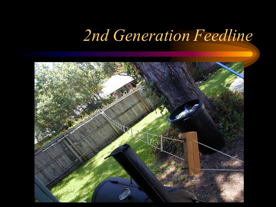 2nd Generation Feedline