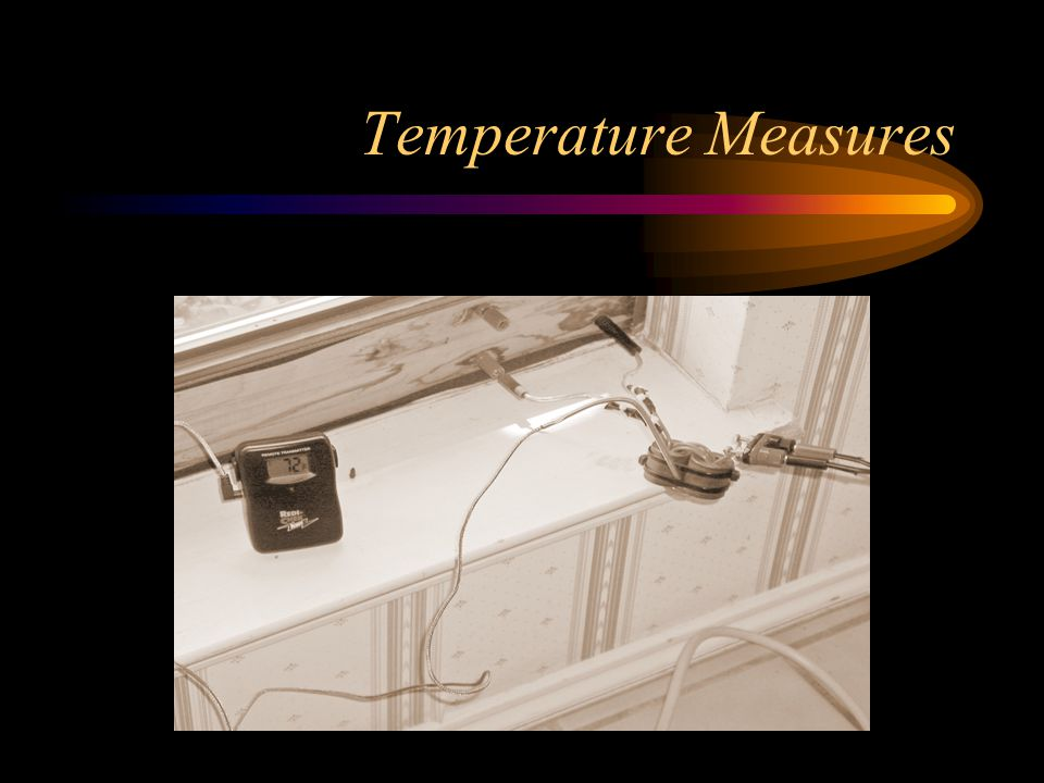 Temperature Measures