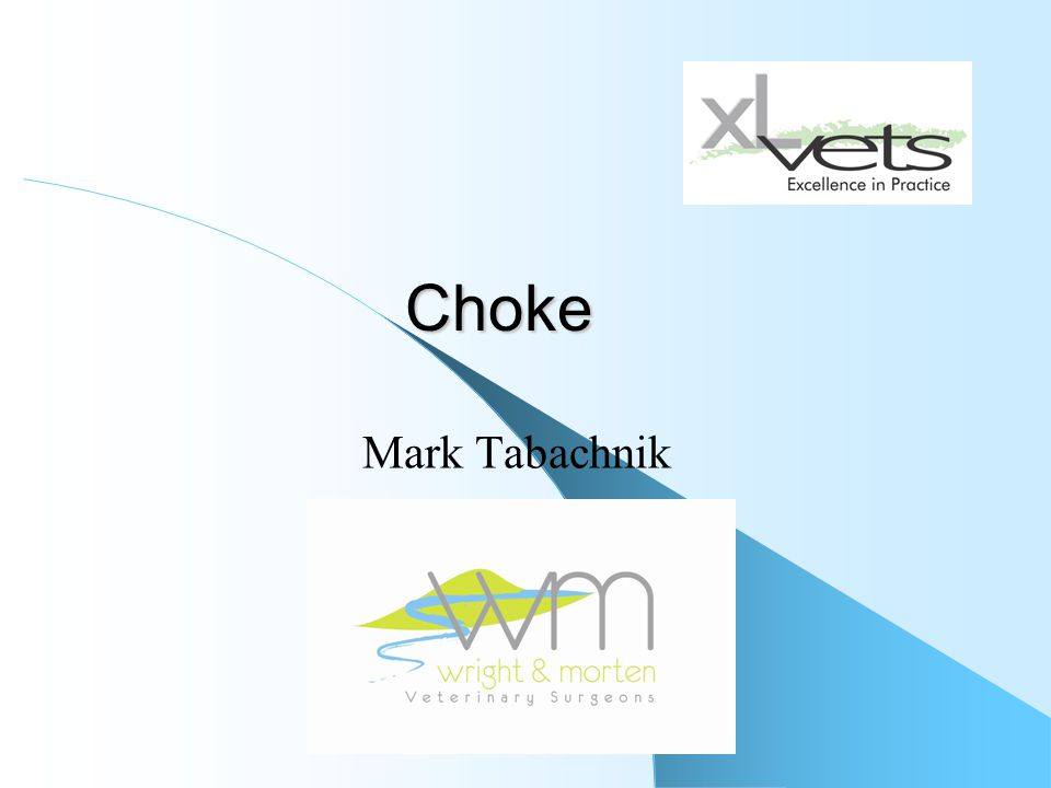 Choke Mark Tabachnik
