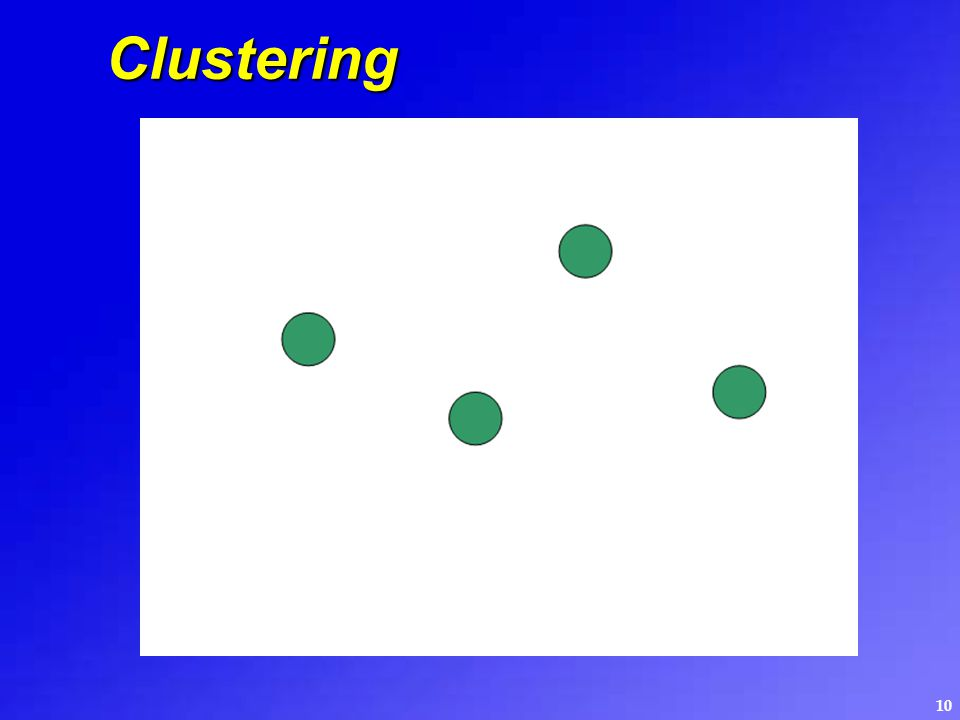 10 Clustering