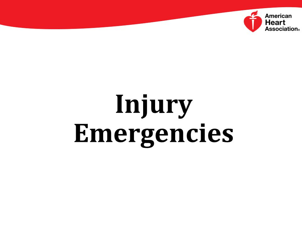 Injury Emergencies