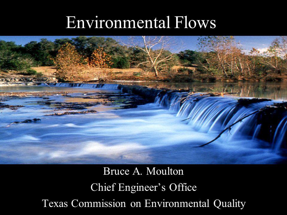 Environmental Flows Bruce A.
