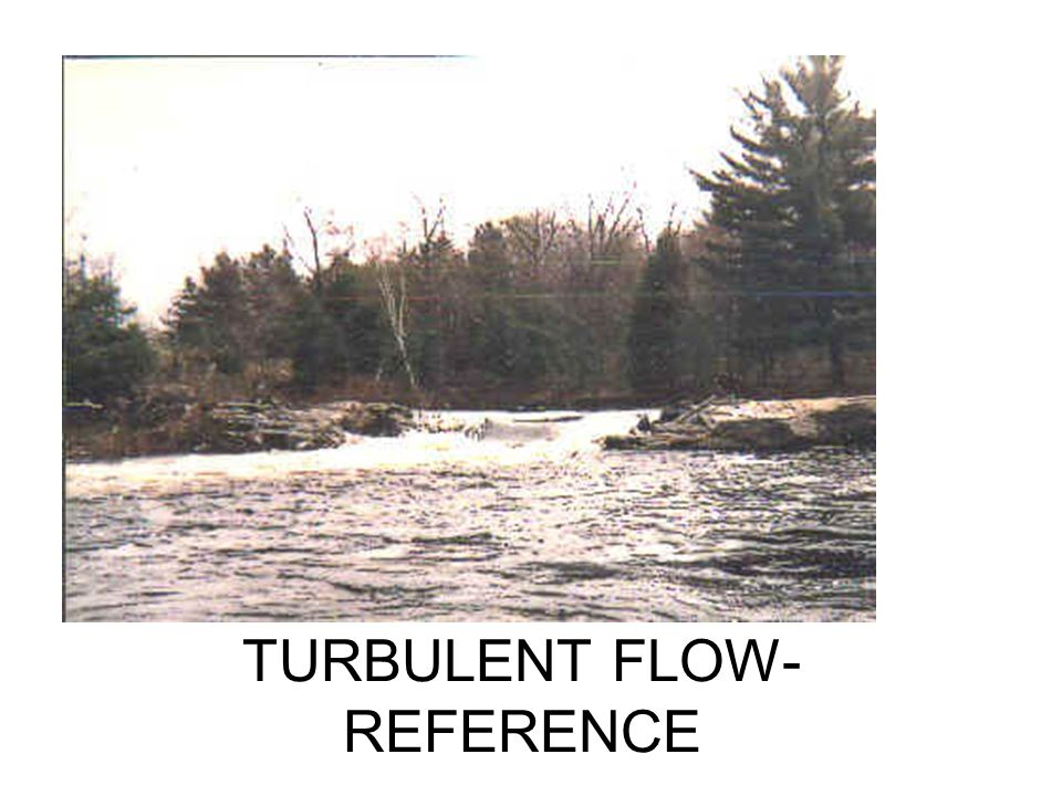 TURBULENT FLOW- REFERENCE