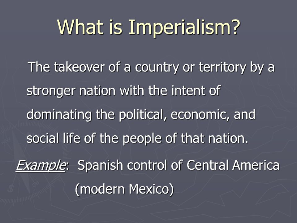 Changes and Continuities ► Take a look at the goals of British Imperialism in 1689 and 1890.