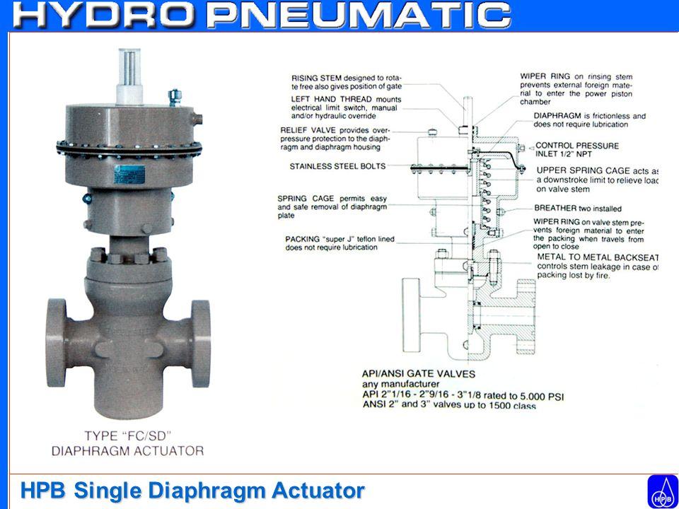 HPB Single Diaphragm Actuator