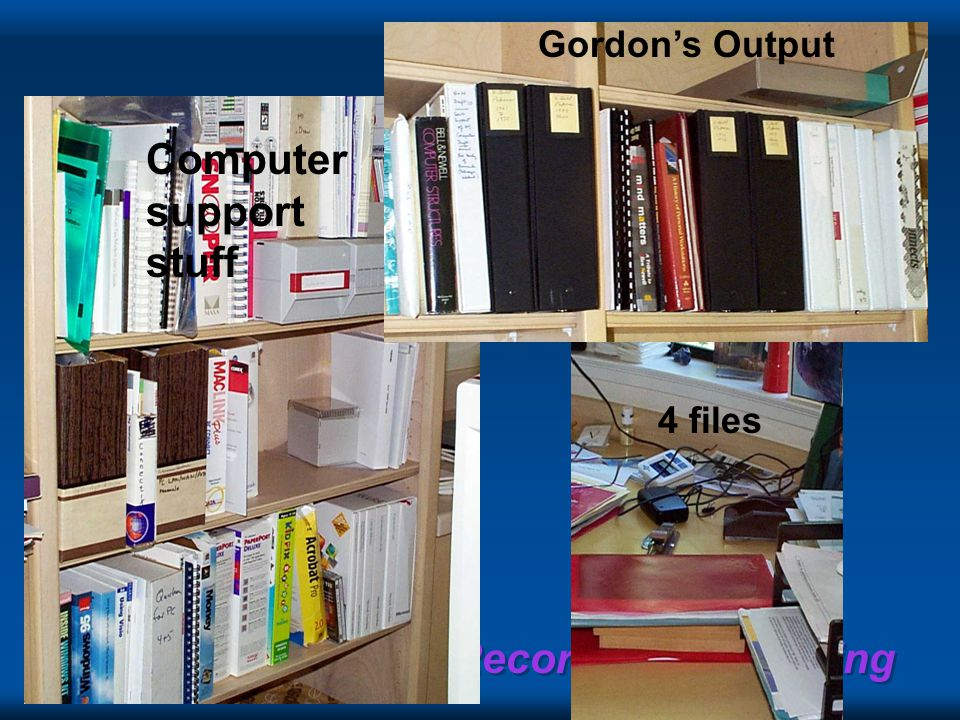 Gordon's Output Computer support stuff Gordon's Output 4 files