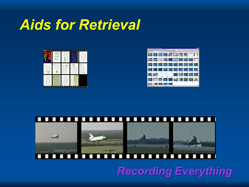 Aids for Retrieval