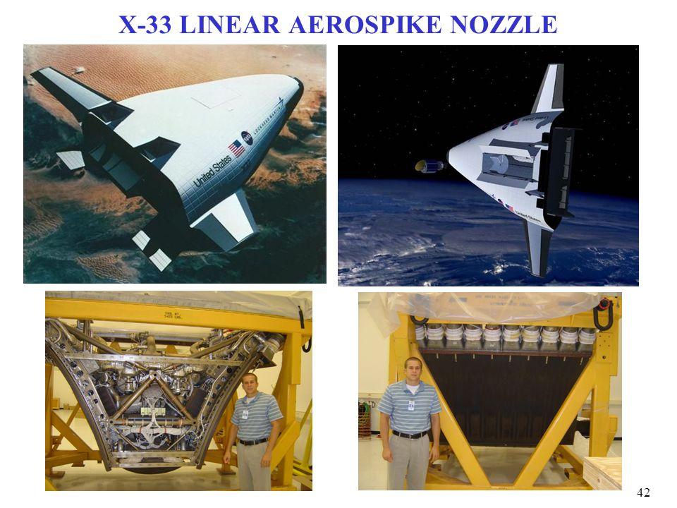 X-33 LINEAR AEROSPIKE NOZZLE 42