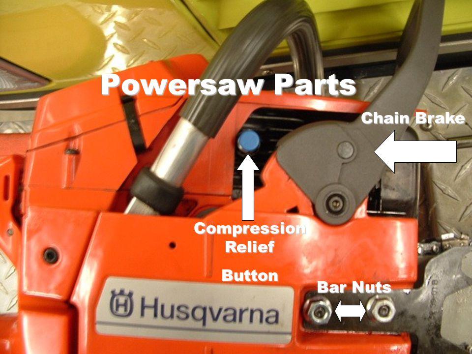 Bar Nuts Compression Relief Button Chain Brake