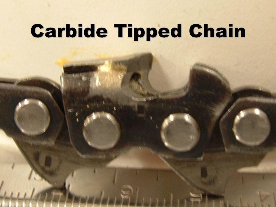 Carbide Tipped Chain
