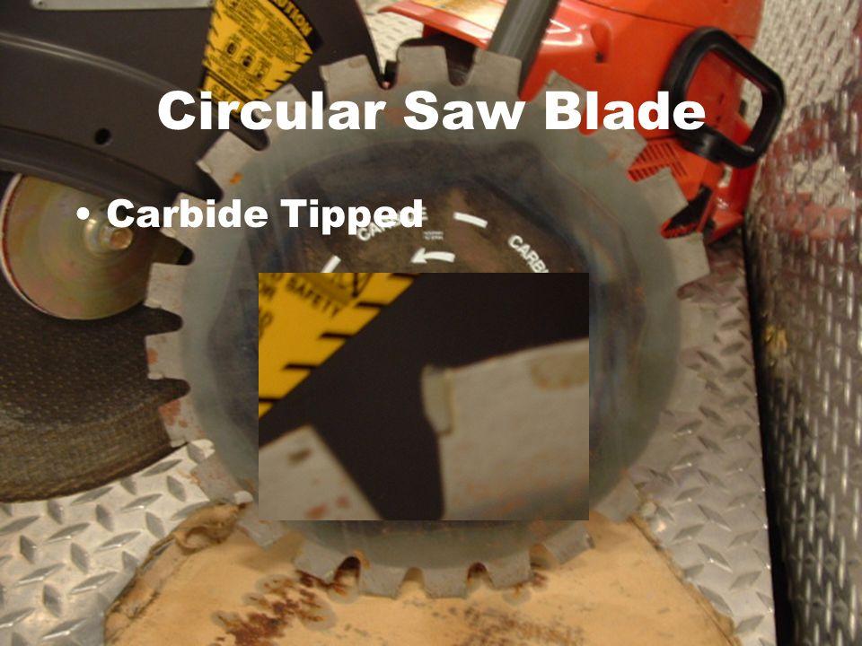 Carbide Tipped Circular Saw Blade