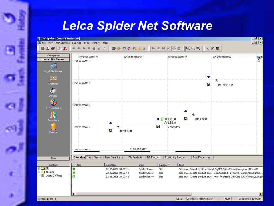 Leica Spider Net Software