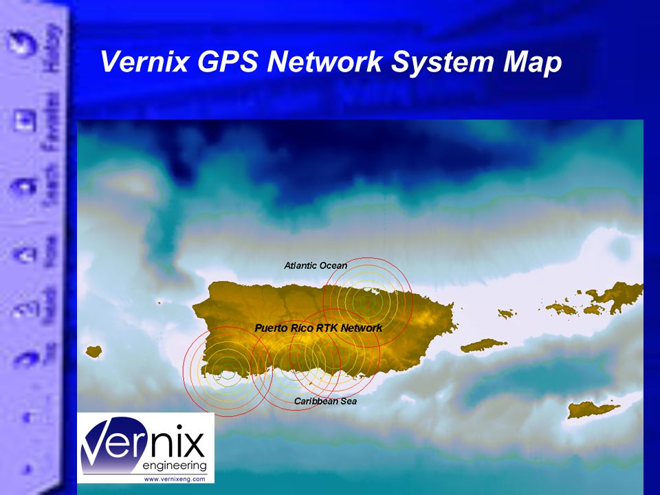 Vernix GPS Network System Map
