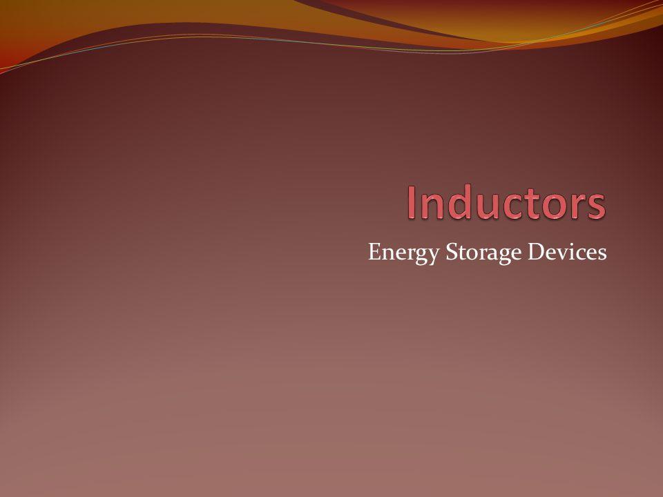 Energy Storage Devices