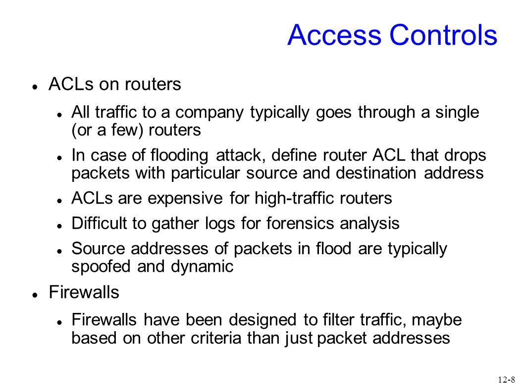 12-9 Firewalls