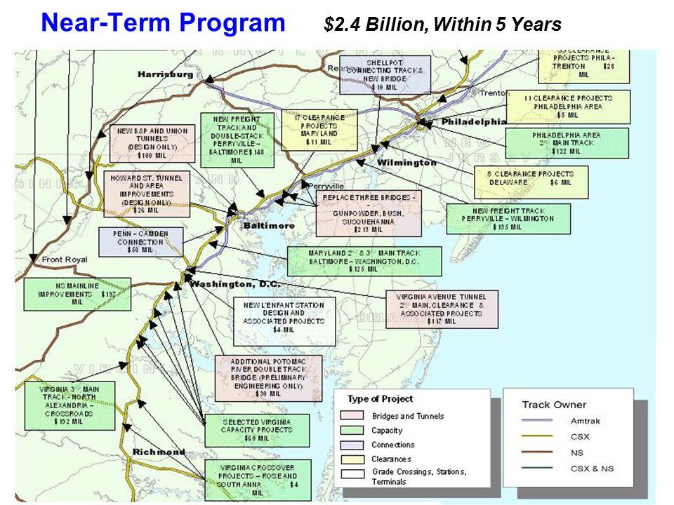 Near-Term Program $2.4 Billion, Within 5 Years