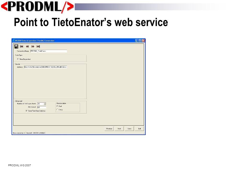 PRODML WG 2007 Rerun optimization if performance declines
