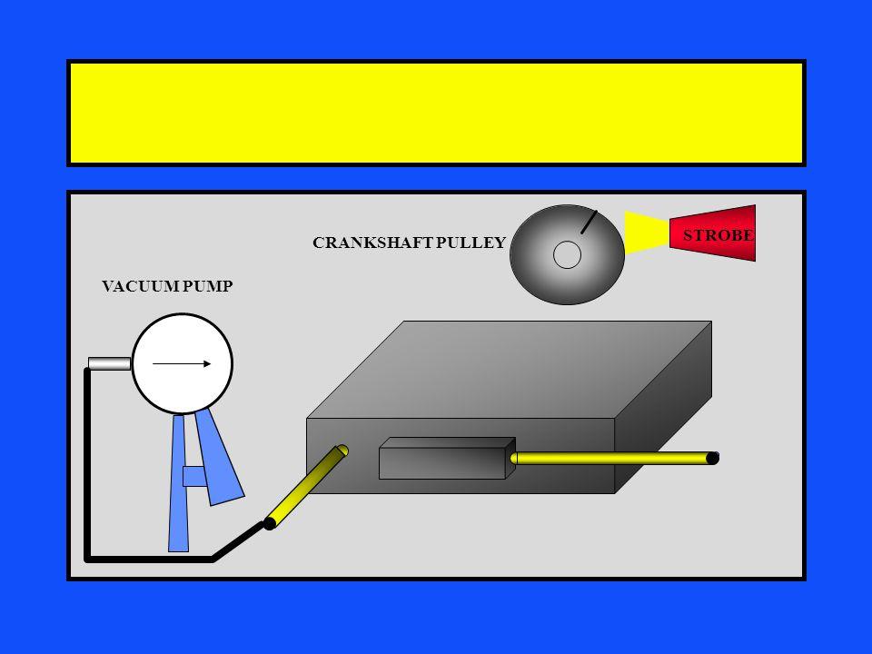 STROBE CRANKSHAFT PULLEY VACUUM PUMP