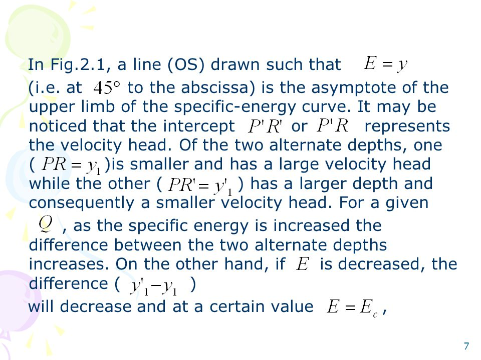 7 In Fig.2.1, a line (OS) drawn such that (i.e.