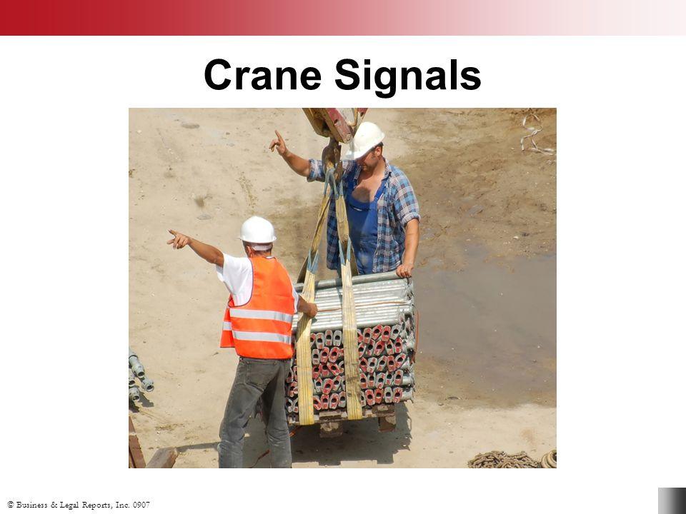 Crane Signals