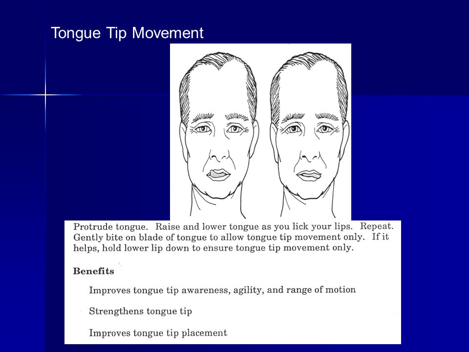 Tongue Tip Movement