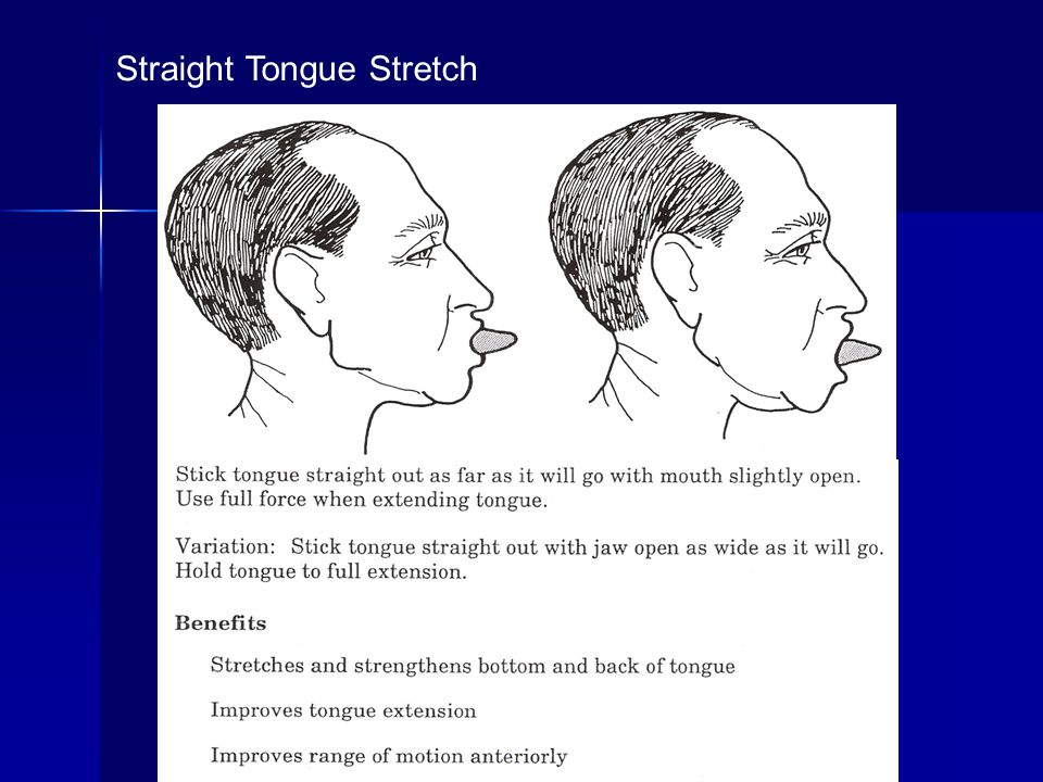 Straight Tongue Stretch