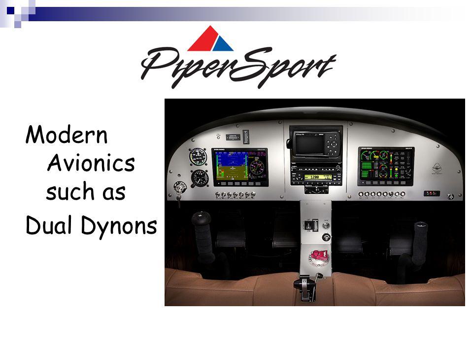 Modern Avionics such as Dual Dynons
