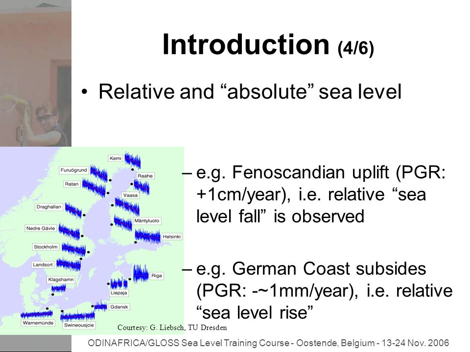 ODINAFRICA/GLOSS Sea Level Training Course - Oostende, Belgium - 13-24 Nov.