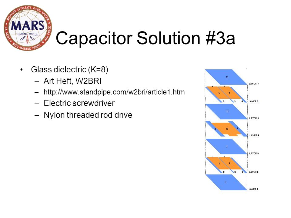 Capacitor Solution #4 Integrated Capacitor http://www.g4hjw.demon.co.uk/magloops.htm, Bernie Wright