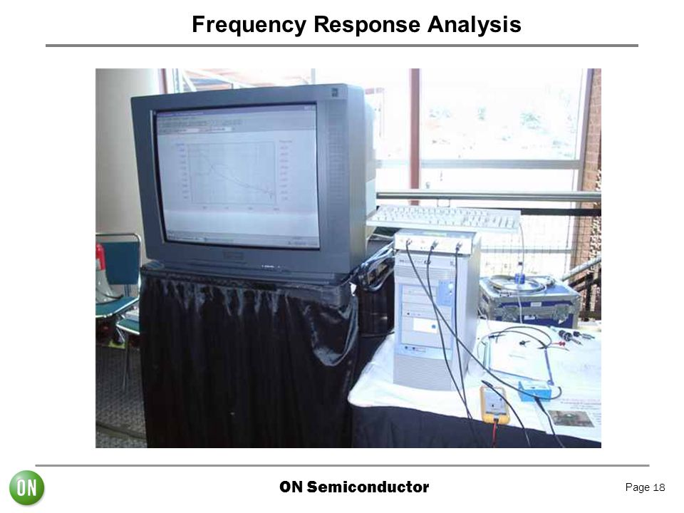 ON Semiconductor Page 18 Frequency Response Analysis