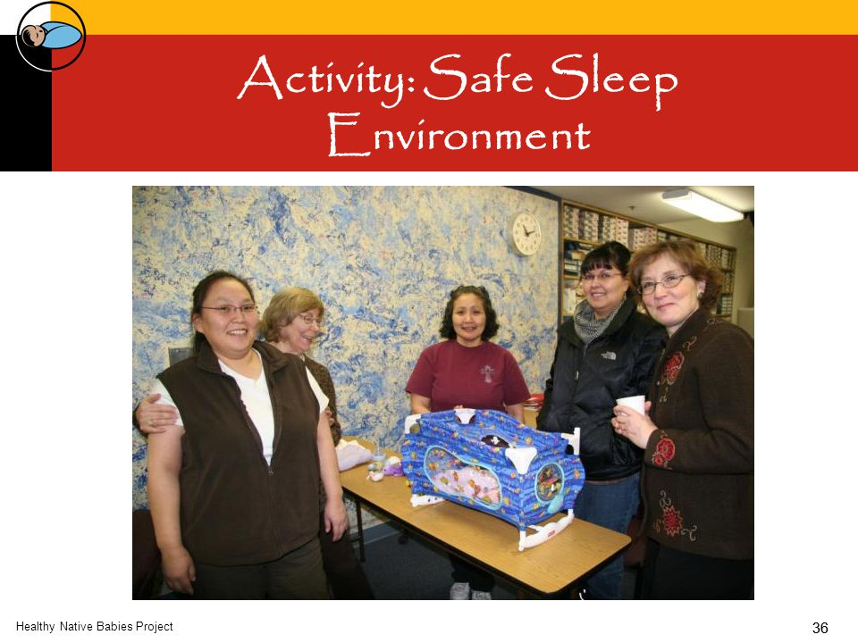 36 Activity: Safe Sleep Environment Healthy Native Babies Project 36