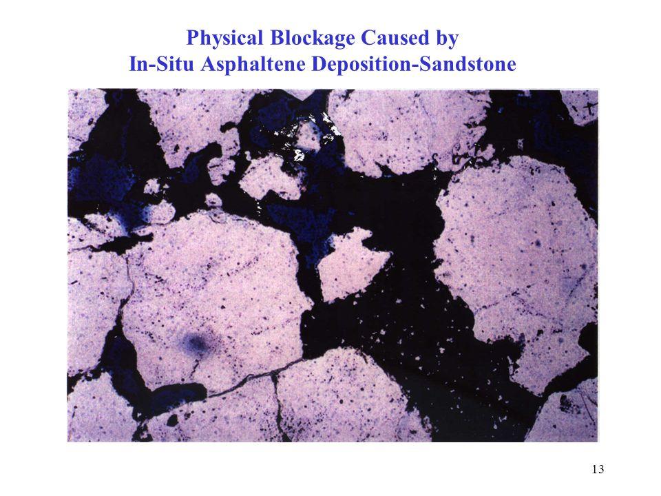 13 Physical Blockage Caused by In-Situ Asphaltene Deposition-Sandstone