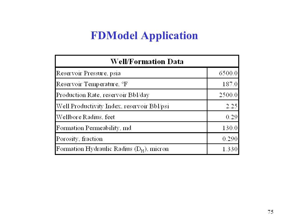 75 FDModel Application