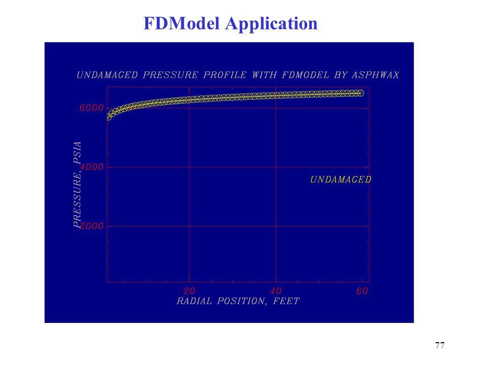 77 FDModel Application