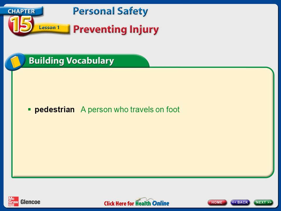 A person who travels on foot  pedestrian