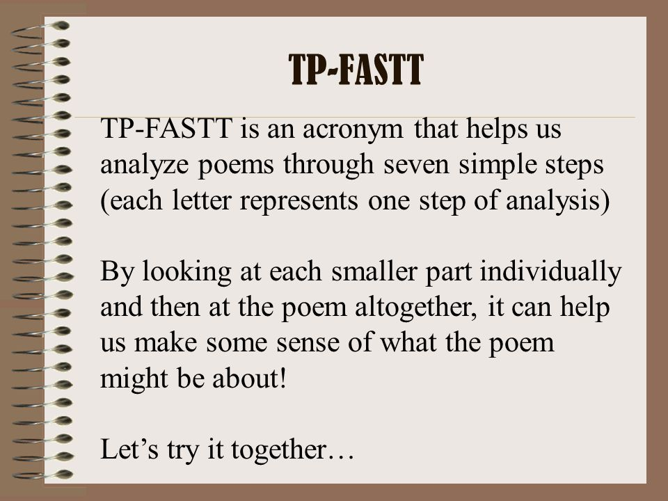 T is for THEME Theme is the general insight into life conveyed by the author through his/her work.